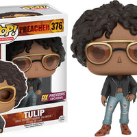 Pop Television 3.75 Inch Action Figure Preacher - Tulip #376 Exclusive