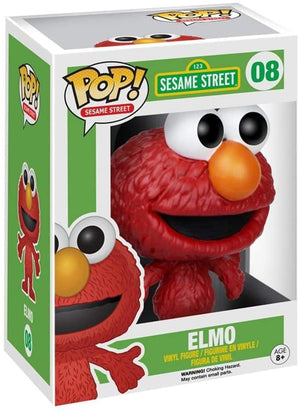 Pop Television 3.75 Inch Action Figure Sesame Street - Elmo #08