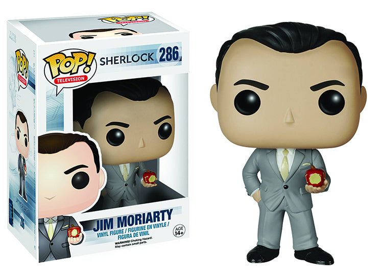 Pop Television 3.75 Inch Action Figure Sherlock - Jim Moriarty #286