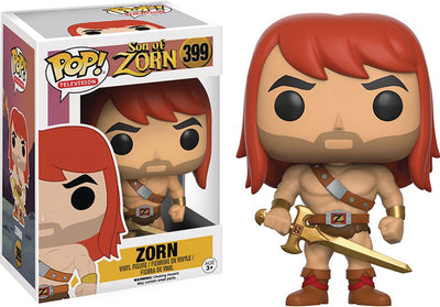 Pop Television Son Of Zorn 3.75 Inch Action Figure - Zorn #399