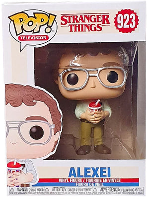 Pop Television 3.75 Inch Action Figure Strange Things - Alexei With Drink #923