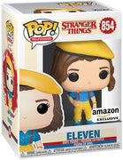 Pop Television 3.75 Inch Action Figure Stranger Things - Eleven Yellow Outfit #854 Exclusive