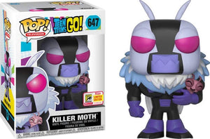 Pop Television 3.75 Inch Action Figure Teen Titans Go - Killer Moth #647 Exclusive