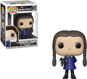 Pop Television 3.75 Inch Action Figure The Addams Family - Wednesday Addams #811