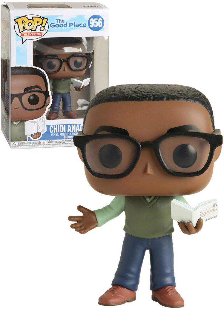 Pop Television 3.75 Inch Action Figure The Good Place - Chidi Anagonye #956