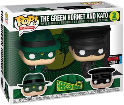 Pop Television 3.75 Inch Action Figure The Green Hornet - The Green Hornet And Kato Exclusive