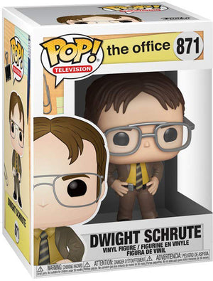 Pop Television 3.75 Inch Action Figure The Office - Dwight Schrute #871