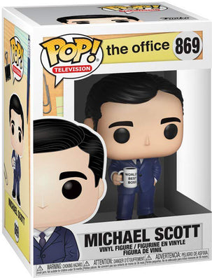 Pop Television 3.75 Inch Action Figure The Office - Michael Scott #869