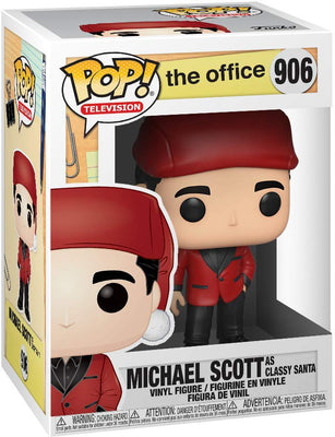 Pop Television 3.75 Inch Action Figure The Office - Michael Scott As Classy Santa #906