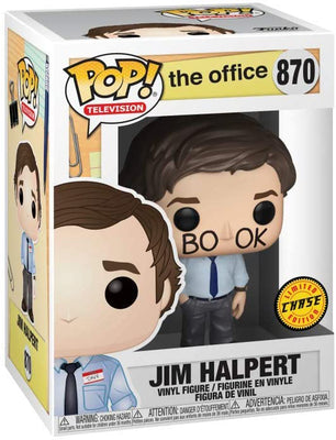 Pop Television The Office 3.75 Inch Action Figure Exclusive - Jim Halpert #870 Chase