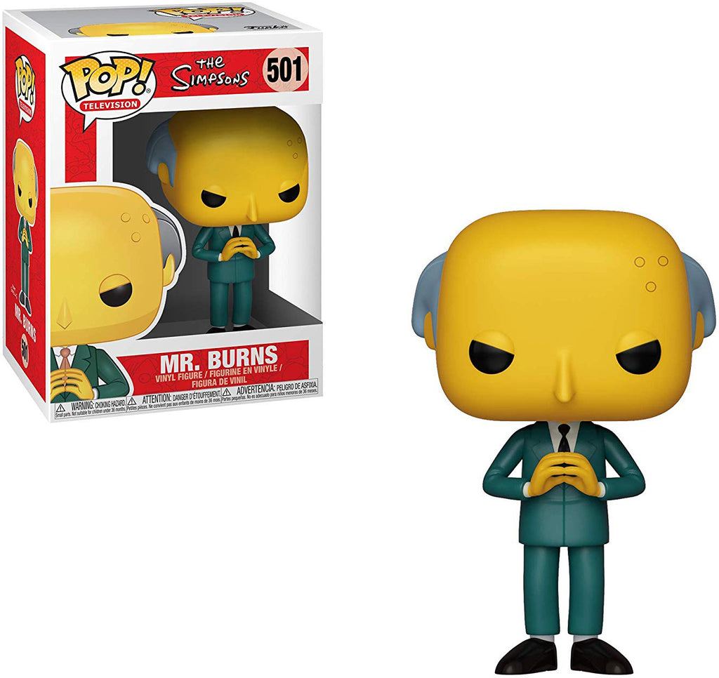 Pop Television 3.75 Inch Action Figure The Simpsons - Mr. Burns #501