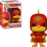 Pop Television 3.75 Inch Action Figure The Simpsons - Radioactive Man #496