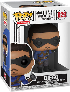 Pop Television 3.75 Inch Action Figure The Umbrella Academy - Diego #929