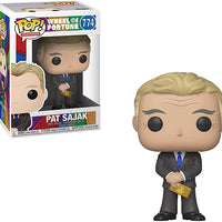 Pop Television 3.75 Inch Action Figure Wheel Of Fortune - Pat Sajak #774