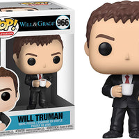 Pop Television Will & Grace 3.75 Inch Action Figure - Will Truman #966