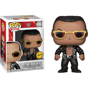 Pop WWE 3.75 Inch Action Figure WWE - The Rock #46 Chase