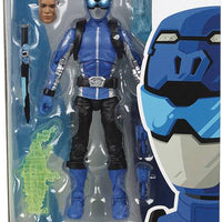 Power Rangers 6 Inch Action Figure Lightning Collection - Beast Morphers Blue Ranger