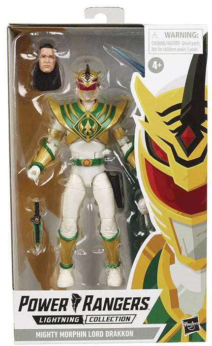 Power Rangers 6 Inch Action Figure Lightning Collection - Lord Drakkon Classic