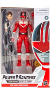 Power Rangers 6 Inch Action Figure Lightning Collection - Time Force Red Ranger