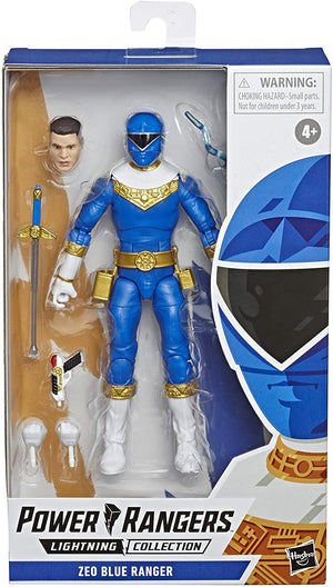 Power Rangers 6 Inch Action Figure Lightning Collection - Zeo Blue Ranger