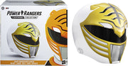 Power Rangers Lightning Collection Life Size Helmet Roleplay Replica - White Ranger Helmet