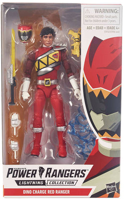 Power Rangers Lightning Collection 6 Inch Action Figure Series 1 - Dino Red Ranger