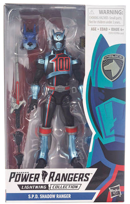 Power Rangers Lightning Collection 6 Inch Action Figure Series 1 - S.P.D. Shadow Ranger