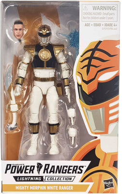 Power Rangers Lightning Collection 6 Inch Action Figure Series 1 - White Ranger