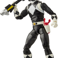 Power Rangers Lightning Collection 6 Inch Action Figure Wave 6 - Classic Black Ranger