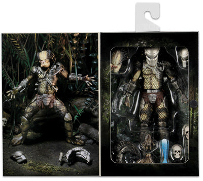 Predator 7 Inch Action Figure Ultimate Series - Jungle Hunter Predator Reissue