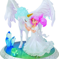 Sailor Moon 8 Inch Statue Figure Figuarts Zero Chouette - Chibi-Usa and Helios