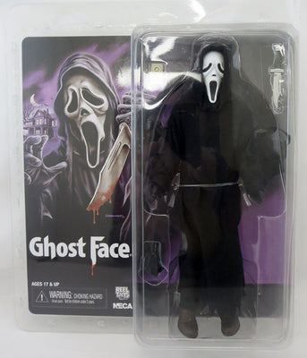 Scream 8 Inch Action Figure Retro Clothed Series - Ghost Face
