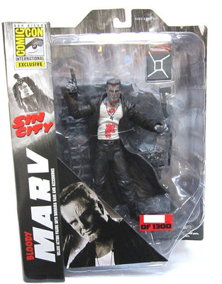 Sin City 7 Inch Action Figure Select Series - Bloody Marv Exclusive
