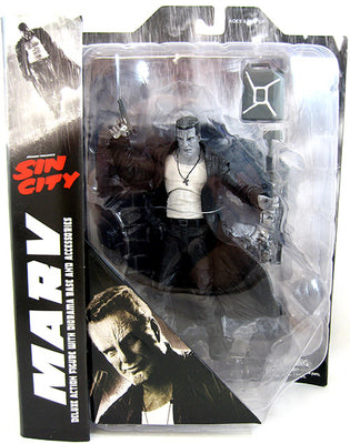 Sin City 7 Inch Action Figure Select Series - Marv