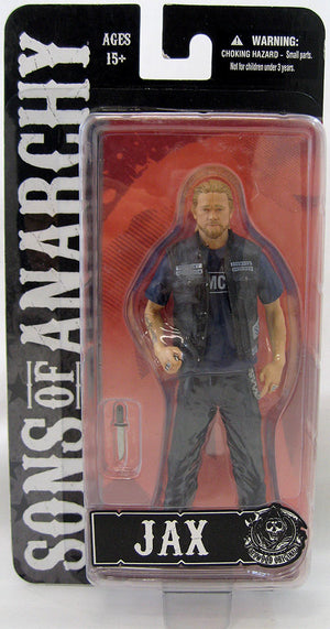 Sons Of Anarchy 6 Inch Action Figure - Jax Teller Blue T-Shirt