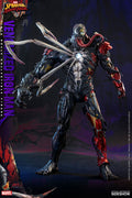 Spider-Man Maximum Venom 12 Inch Action Figure 1/6 Scale - Venomized Iron Man Hot Toys 907026