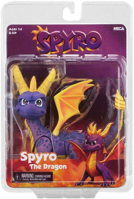 Spyro The Dragon 8 Inch Action Figure Video Game Series - Spyro