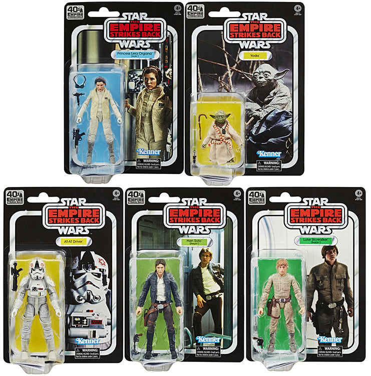 Star Wars 40th Anniversary 6 Inch Action Figure (2020 Wave 1) - Set of 5