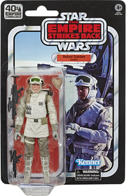Star Wars 40th Anniversary 6 Inch Action Figure (2020 Wave 2) - Rebel Soldier (Hoth)