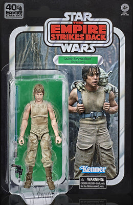 Star Wars 40th Anniversary 6 Inch Action Figure (2020 Wave 3) - Luke Skywalker Dagobah