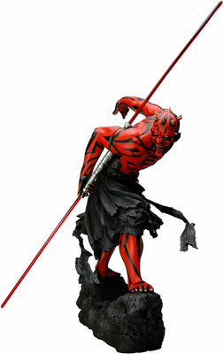 Star Wars 12 Inch Statue Figure ARTFX - Darth Maul Ukiyo-E Version