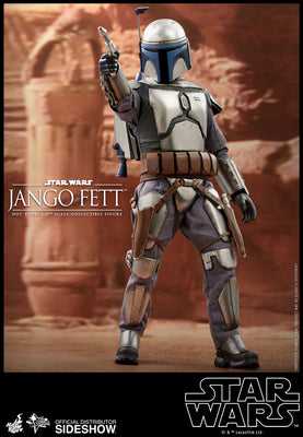 Star Wars Attack of the Clones 12 Inch Action Figure 1/6 Scale - Jango Fett Hot Toys 903741