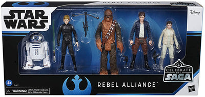Star Wars 3.75 Inch Action Figure Celebrate The Saga Box Set - Rebel Alliance