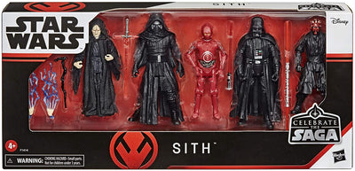 Star Wars 3.75 Inch Action Figure Celebrate The Saga Box Set - Sith
