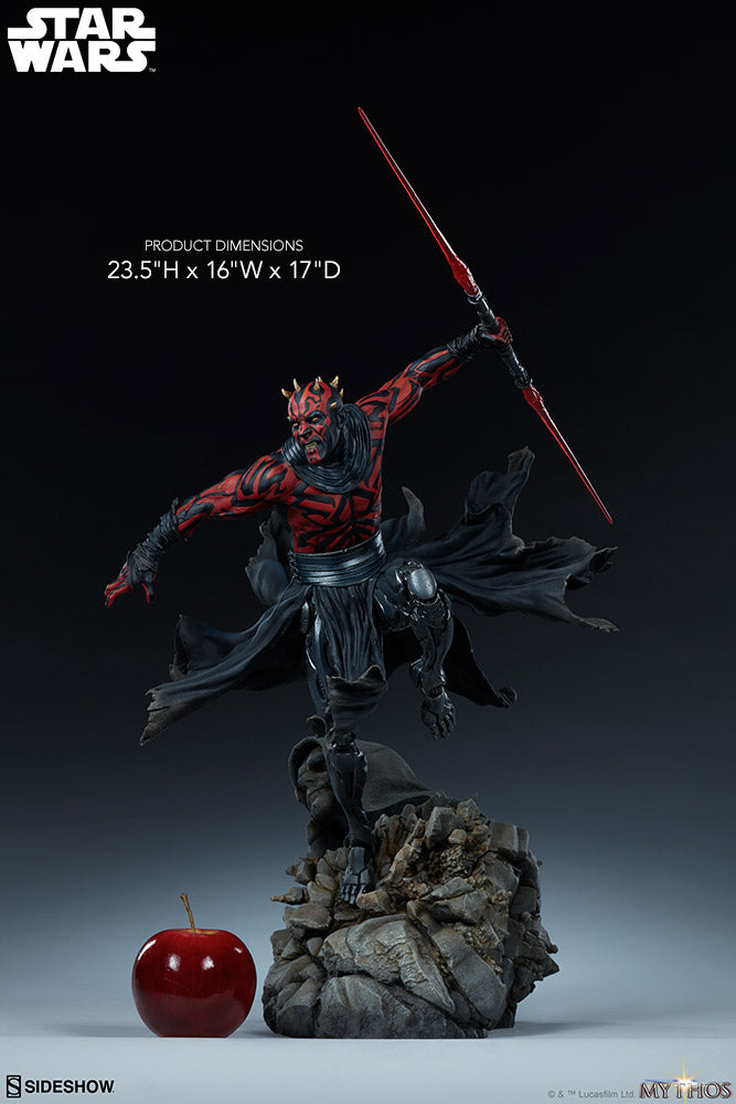 Star Wars Collectible 23 Inch Statue Figure Mythos - Darth Maul Sideshow 300698