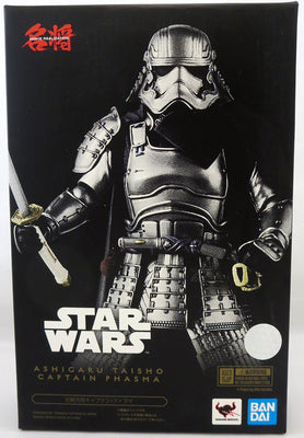 Star Wars 7 Inch Action Figure Meisho Movie Realiation - Ashigaru Taisho Captain Phasma
