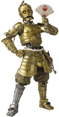 Star Wars 6 Inch Action Figure Meisho Movie Realization - Honyaku Karakuri C-3PO