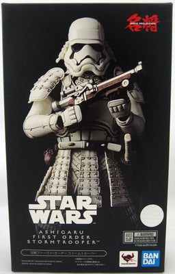 Star Wars 7 Inch Action Figure Meisho Movie Realization - Ashigaru First Order Storm Trooper