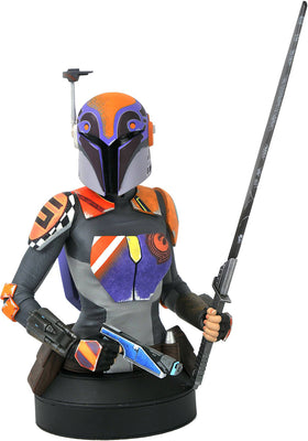 Star Wars Rebels 1/6 Scale 6 Inch Bust Statue - Sabine Wren