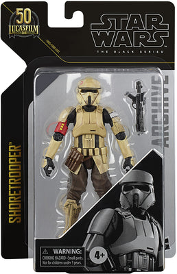 Star Wars The Black Series Archives 6 Inch Action Figure Greatest Hits (2021 Wave 2) - Shoretrooper